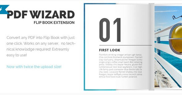 PDF To FlipBook Extension 3.0.3