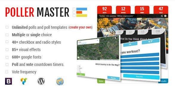 Poller Master – Ultimate WP Polling System 1.3