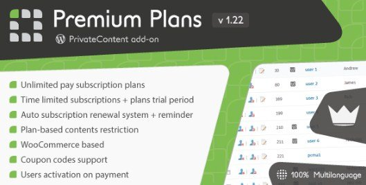 PrivateContent – Premium Plans add-on 1.24
