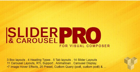 Pro Slider & Carousel Layout for Visual Composer 2.0