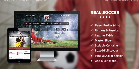 Real Soccer 2.31 – Clubes Deportivos WordPress