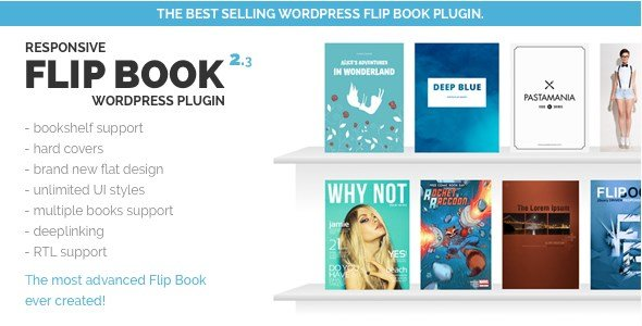 Responsive FlipBook Plugin 2.3.1