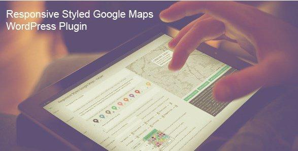 Responsive Styled Google Maps – WordPress Plugin 4.5