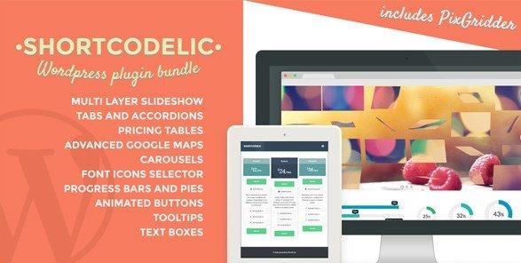 Shortcodelic – WordPress Plugin Bundle 2.5.1