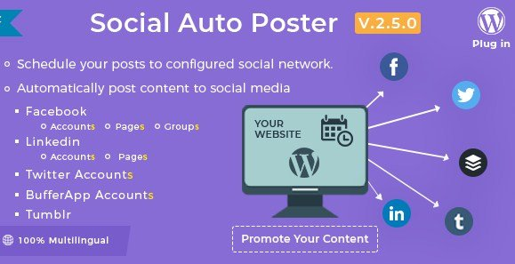 Social Auto Poster – WordPress Plugin 2.9.2