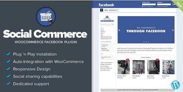 Social Commerce – WooCommerce Facebook Tab 1.5.1