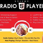 Sticky Full Width Radio Player WordPress Plugin 1.6