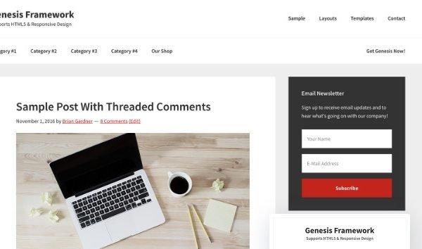 StudioPress Genesis Framework 2.7.3