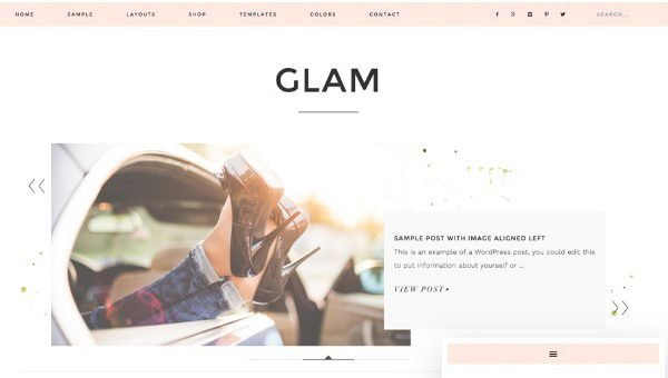 StudioPress Glam Pro Theme 1.0.3