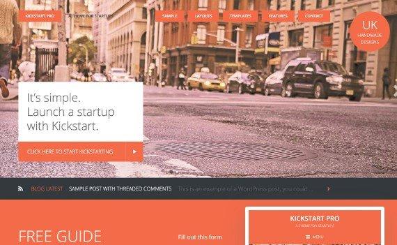 StudioPress Kickstart Pro Theme 1.3.7