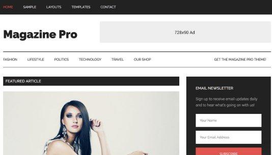 StudioPress Magazine Pro Theme 3.2.4