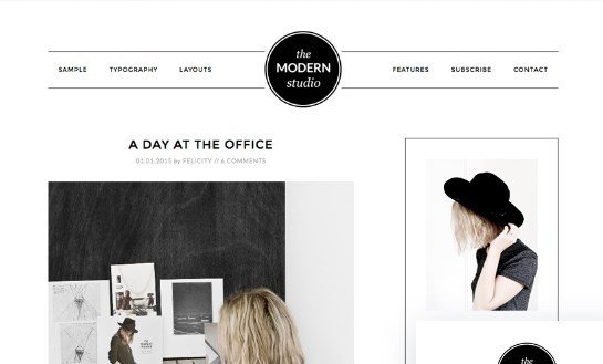 StudioPress Modern Studio Pro Theme 1.0.3