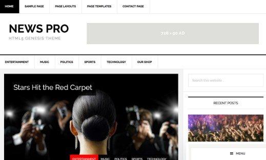 StudioPress News Pro Theme 3.2.2