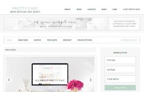 StudioPress Pretty Chic Theme 1.0.0