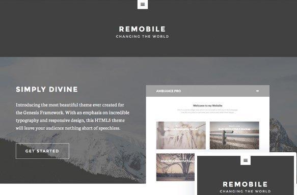 StudioPress Remobile Pro Theme 1.0.2