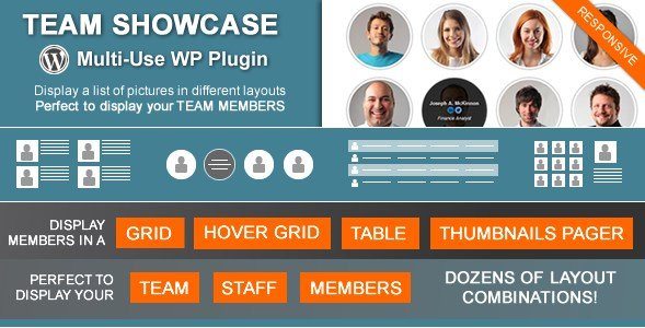 Team Showcase – WordPress Plugin 2.1.3