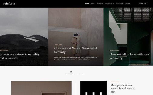 Themes Kingdom Reinform WordPress Theme 1.0.6