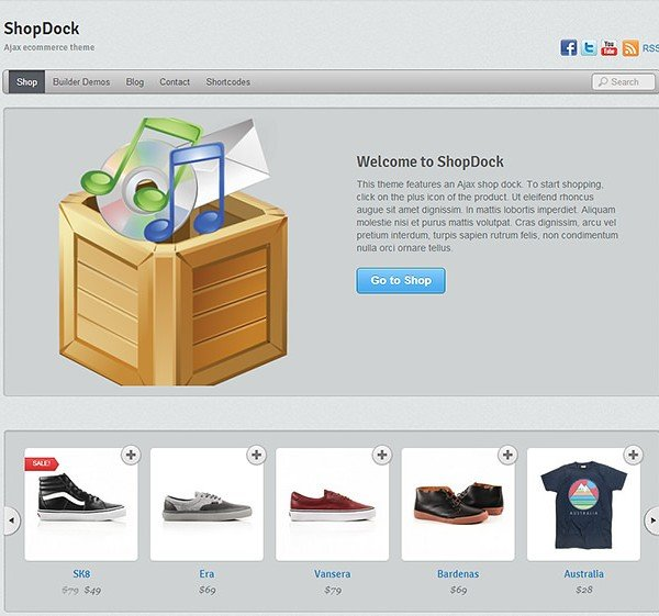 Themify ShopDock WooCommerce Themes 2.2.8