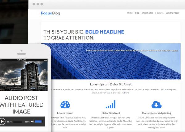 Thrive Themes Focusblog WordPress Theme 1.401.0