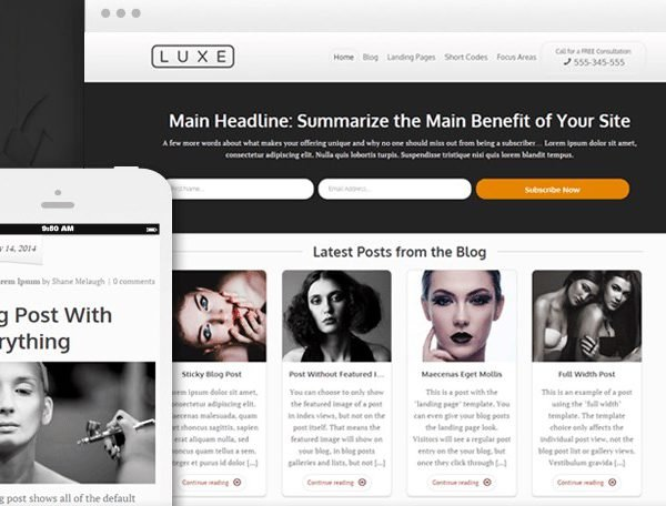 Thrive Themes Luxe WordPress Theme 1.401.0