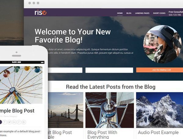 Thrive Themes Rise WordPress Theme 1.401.0