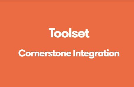 Toolset Cornerstone Integration 1.2