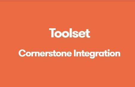 Toolset Cornerstone Integration 1.2