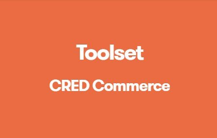 Toolset CRED Commerce 1.8.1