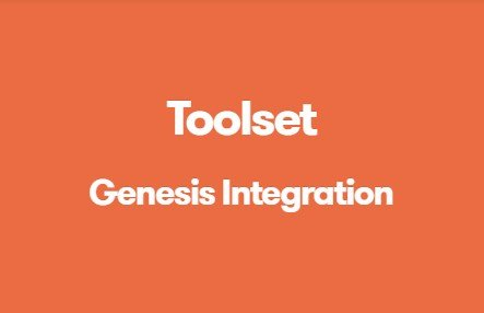 Toolset Genesis Integration 1.9.2