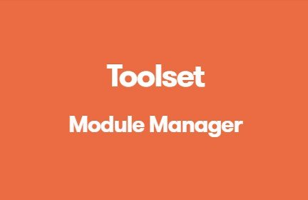Toolset Module Manager 1.8.4