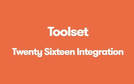 Toolset Twenty Sixteen Integration 1.4.1