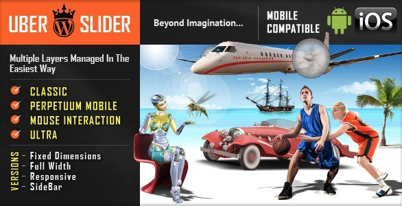 UberSlider Layer Slider WordPress Plugin 1.8.2.2