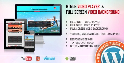 Video Player & FullScreen Video Background – WP Plugin 1.8.7