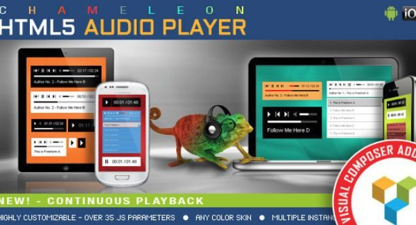Visual Composer Addon – Chameleon Audio Player 1.3.0.1