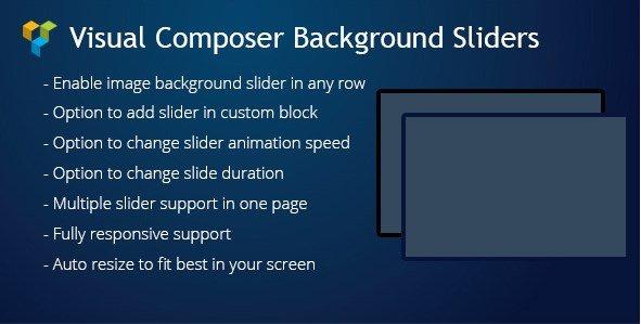Visual Composer Background Sliders 1.2