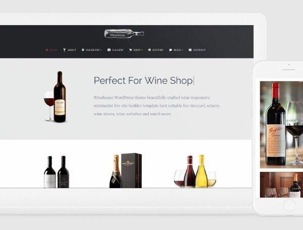 VisualModo Winehouse WordPress Theme 2.0.4