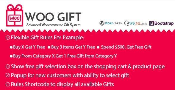 Woo Gift – Advanced Woocommerce Gift Plugin 4.7
