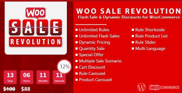 Woo Sale Revolution – Flash Sale Dynamic Discounts 3.0
