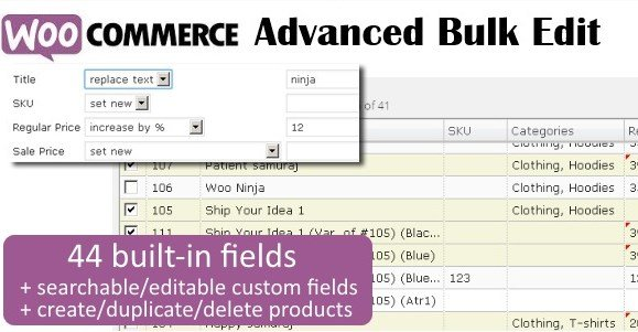 WooCommerce Advanced Bulk Edit 4.4.2