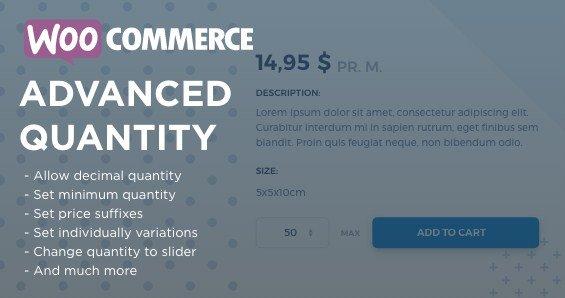 WooCommerce Advanced Quantity 2.4.0