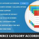WooCommerce Category Accordion 2.0
