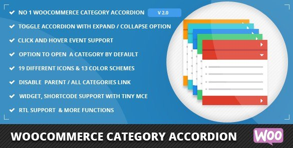 WooCommerce Category Accordion 2.0