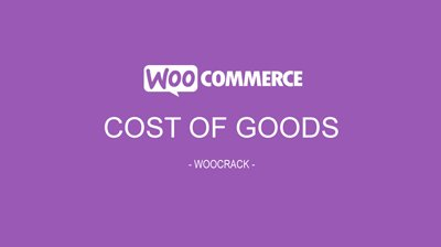 WooCommerce Cost Of Goods 2.8.1