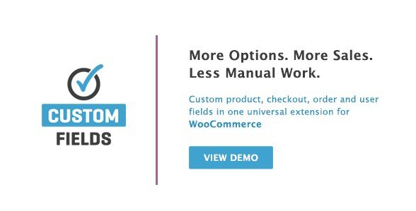 WooCommerce Custom Fields 2.2.5