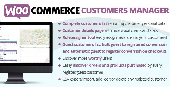 WooCommerce Customers Manager 22.3