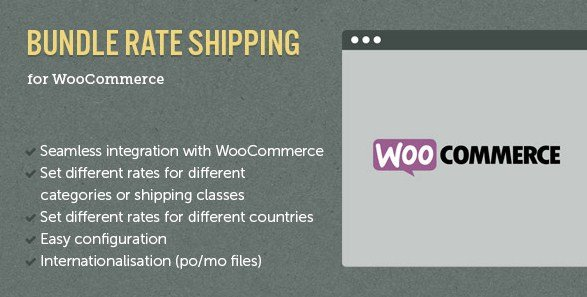 WooCommerce E-Commerce Bundle Rate Shipping 2.0.4