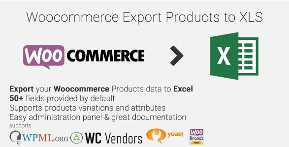 Woocommerce Export Products to XLS 0.6.0