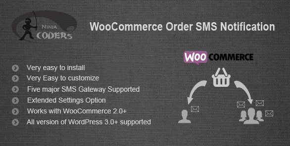 WooCommerce Order SMS Notification 1.9
