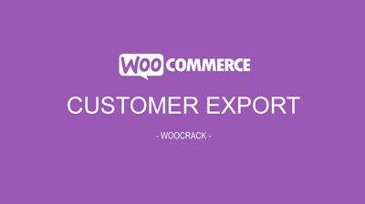 WooCommerce Order/Customer CSV Export 4.6.1