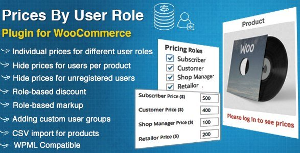 WooCommerce Prices By User Role 4.3